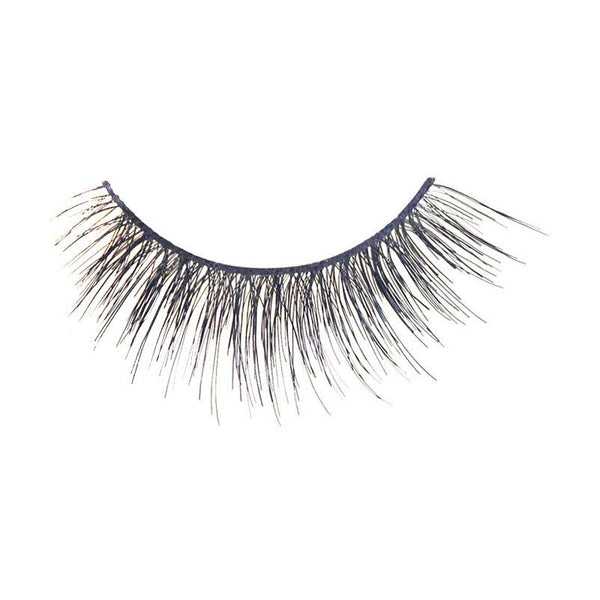 Eldora M103 Real Hair Black Multi-Layered Winged False Eyelashes