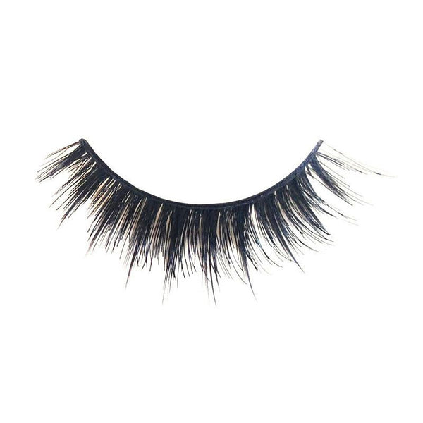 Eldora M104 Real Hair Black Multi-Layered Winged False Eyelashes