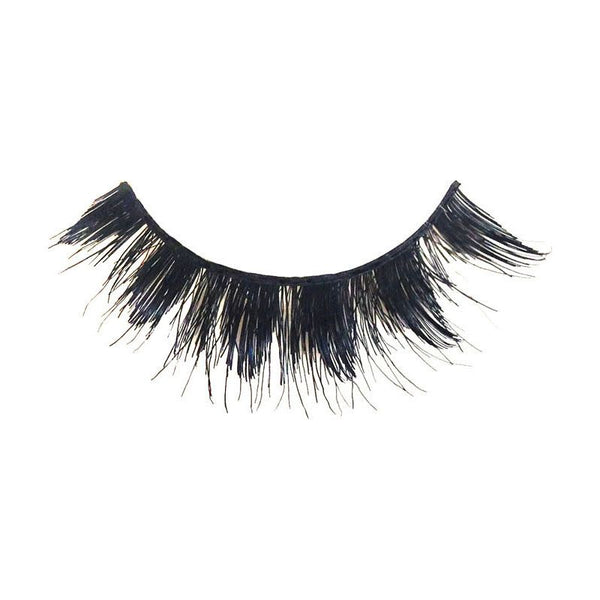 Eldora M105 Real Hair Black Multi-Layered Winged False Eyelashes