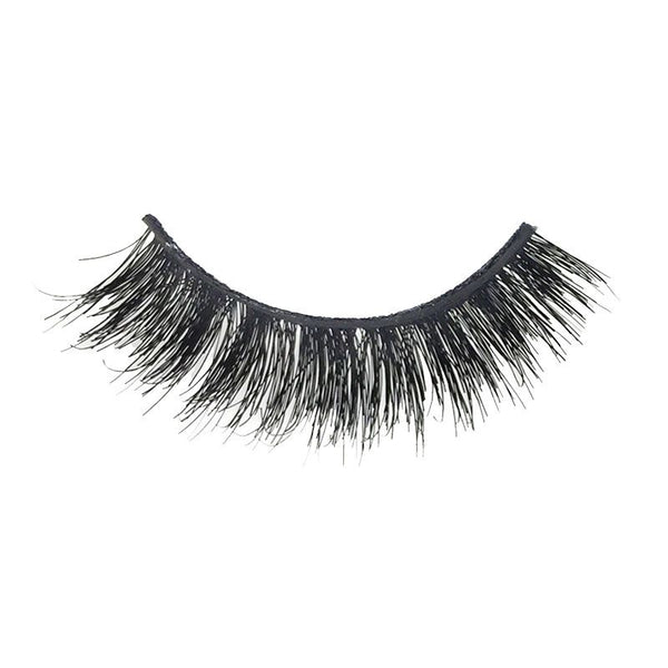 Eldora M107 Real Hair Black Multi-Layered Winged False Eyelashes