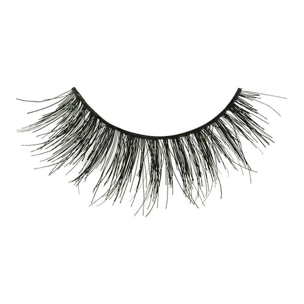 Eldora M108 Real Hair Black Multi-Layered Round False Eyelashes