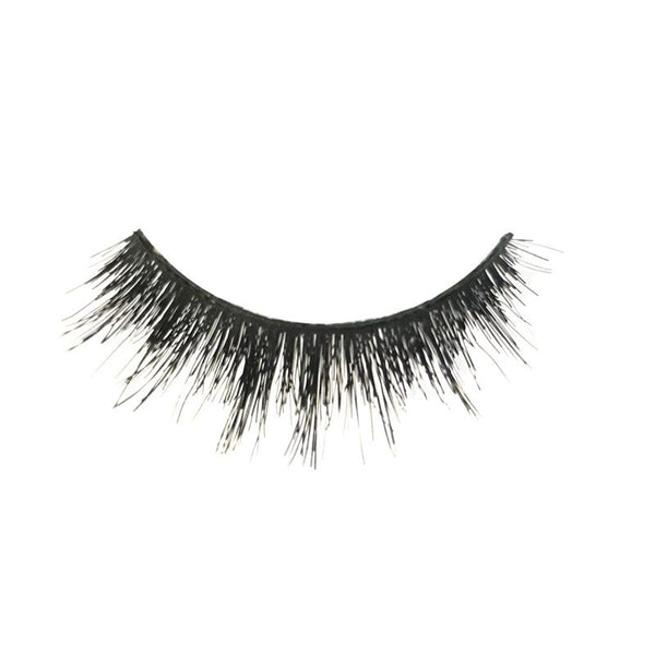 Eldora M110 Real Hair Black Multi-Layered Winged False Eyelashes