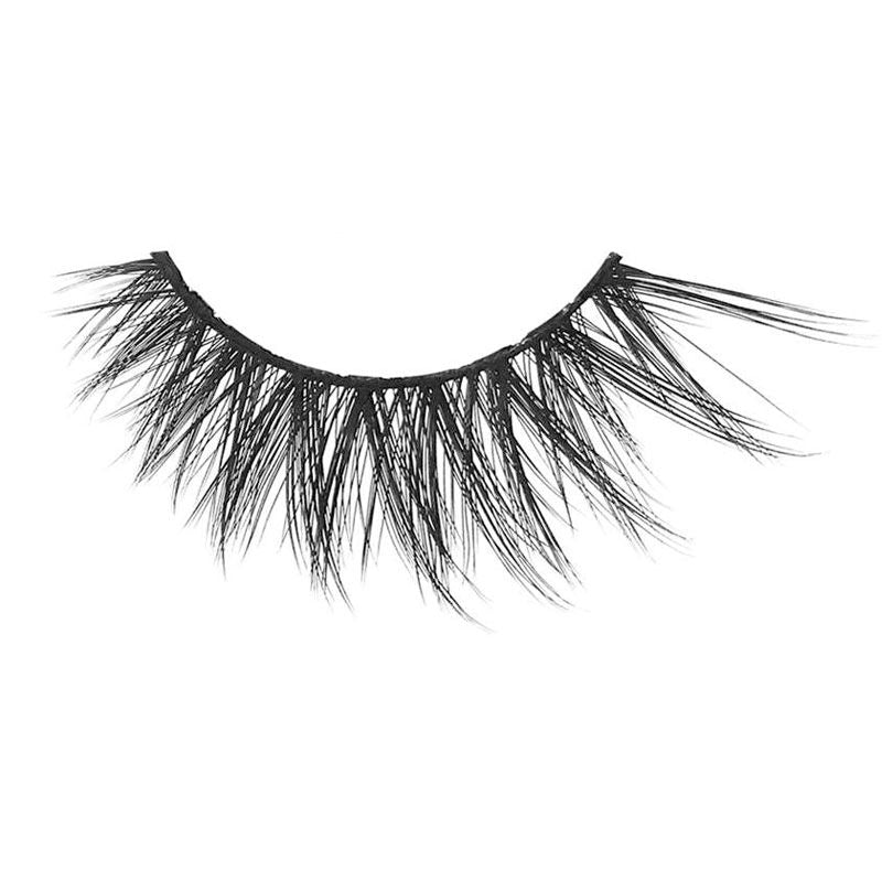 Eldora M111 Real Hair Black Multi-Layered Winged False Eyelashes