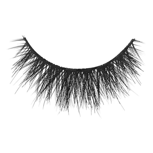 Eldora M112 Real Hair Black Multi-Layered Round False Eyelashes