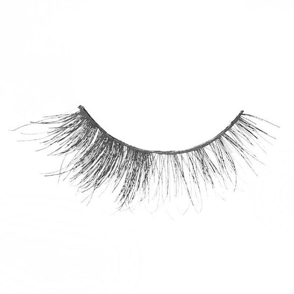 Eldora M114 Real Hair Black Multi-Layered Round False Eyelashes
