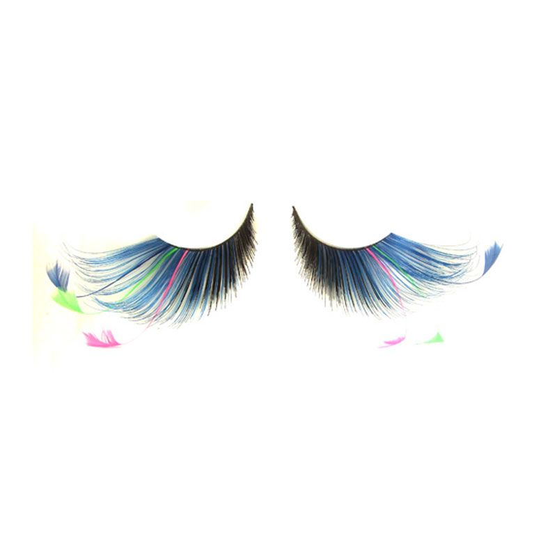 Eldora S108 Synthetic Feather Winged False Eyelashes