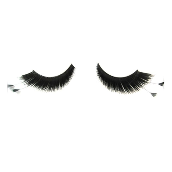 Eldora S207 Black Synthetic Feather Winged False Eyelashes