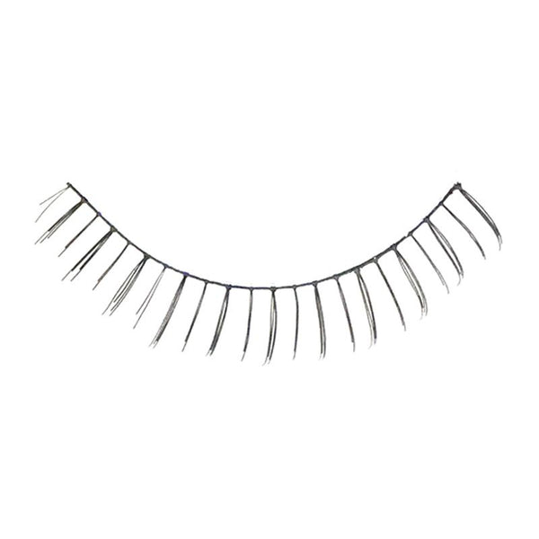 Eldora S401 Real Hair Black False Under Eyelashes