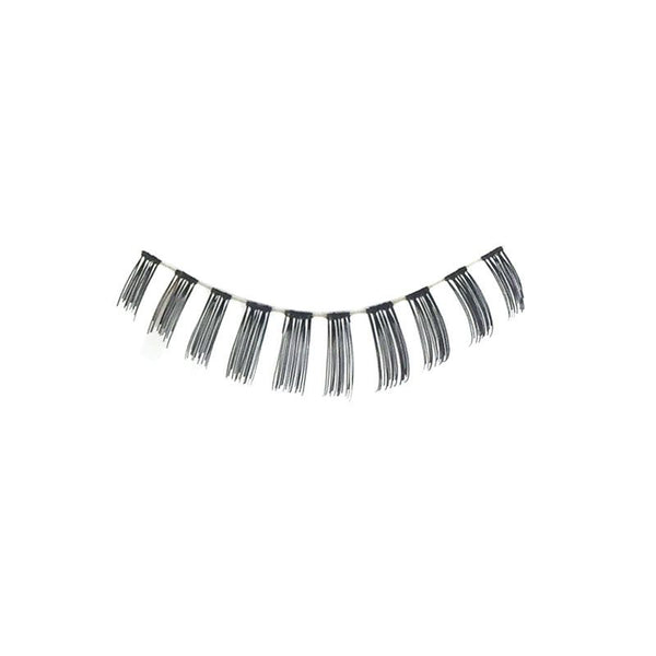 Eldora S403 Real Hair Black False Under Eyelashes