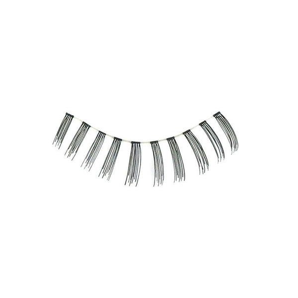 Eldora S405 Real Hair Black False Under Eyelashes
