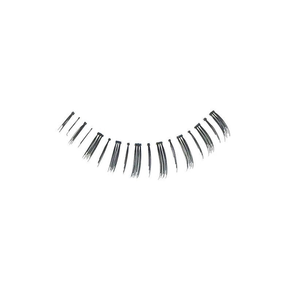 Eldora S406 Real Hair Black False Under Eyelashes
