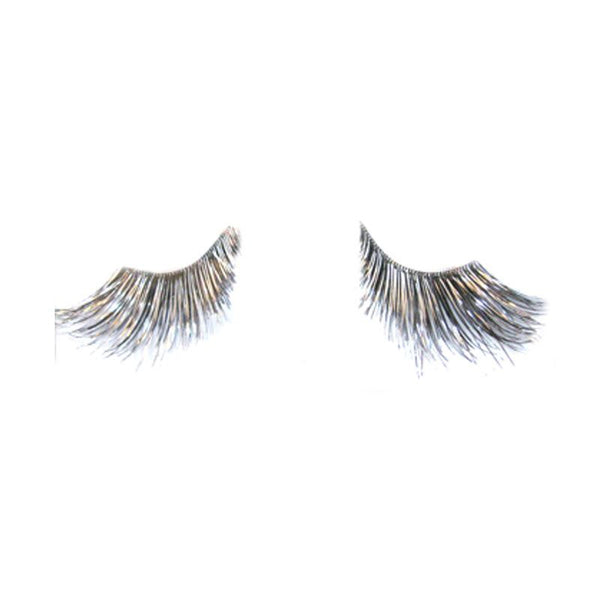 Eldora S509 Synthetic Black / Silver Winged False Eyelashes