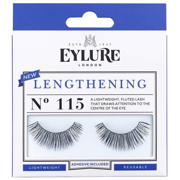 Eylure Lengthening 115 Black False Eyelashes