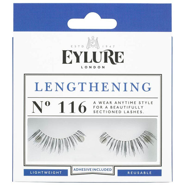 Eylure Lengthening 116 Black False Eyelashes