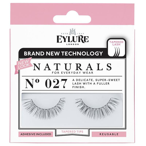Eylure Naturals 027 Black False Eyelashes