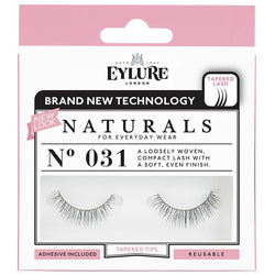 Eylure Naturals 031 Black False Eyelashes