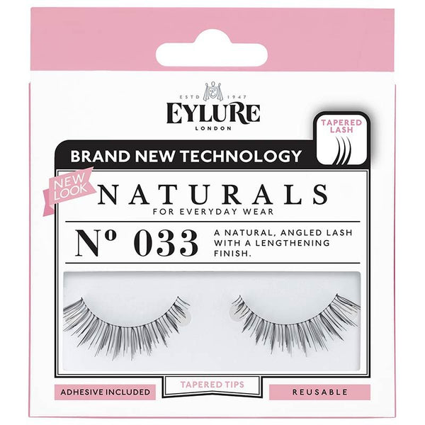 Eylure Naturals 033 Black False Eyelashes