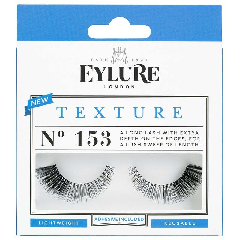 Eylure Texture 153 Black False Eyelashes