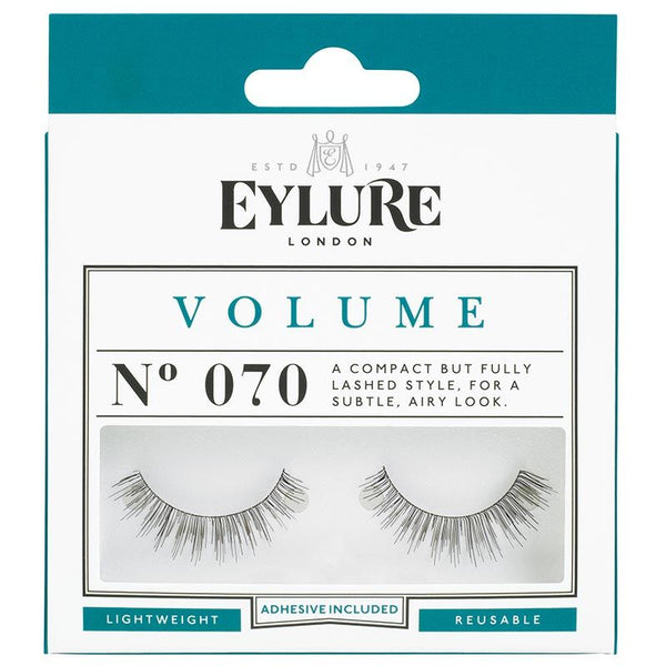 Eylure Volume 070 Black Strip False Eyelashes