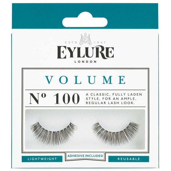 Eylure Volume 100 Black Strip False Eyelashes