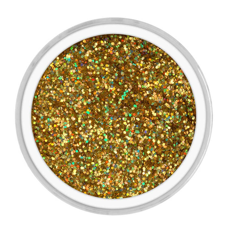 "Nubar Gold Alpha Jewels NU-NNJ22 .015"" Glitter Nail Art"