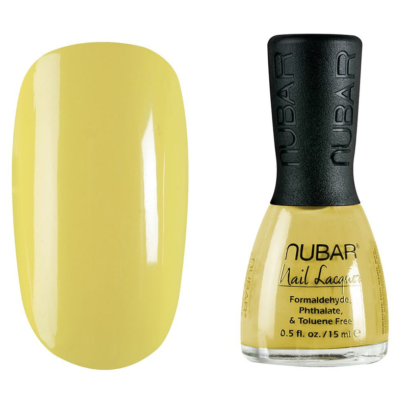 Nubar Lemon NU-NJB264 Nail Polish - Jellybeans Collection