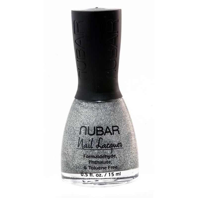 Nubar Silver Glitter NU-G108 Nail Polish - Trendy 1 Collection