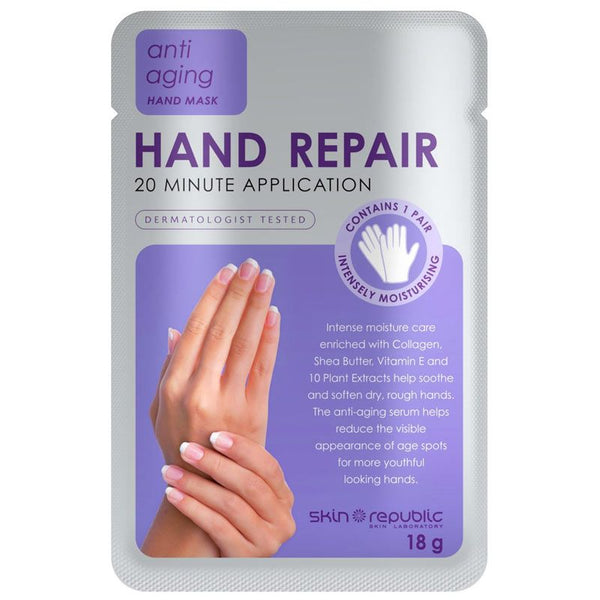 Skin Republic Anti Aging Hand Repair Hand Mask 1 Pair