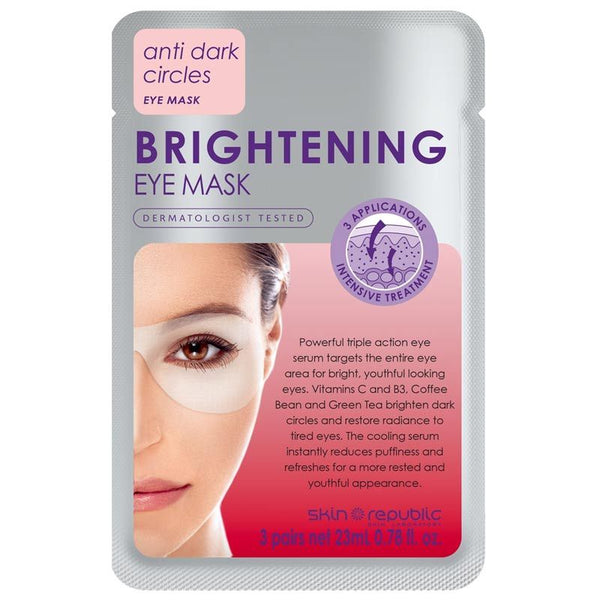 Skin Republic Brightening Eye Mask 3 Pairs