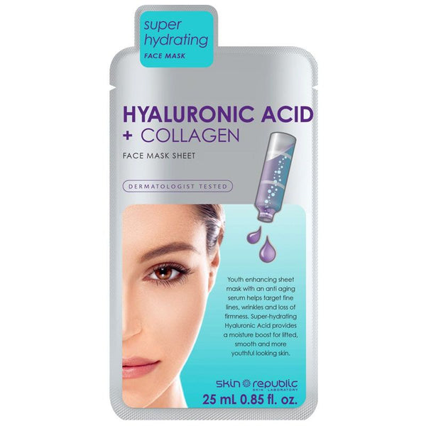 Skin Republic Hyaluronic Acid and Collagen Face Mask