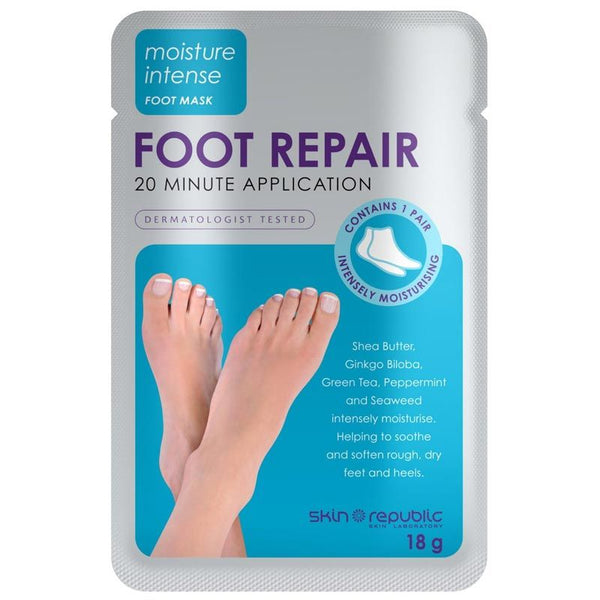 Skin Republic Moisture Intense Foot Repair 1 Pair