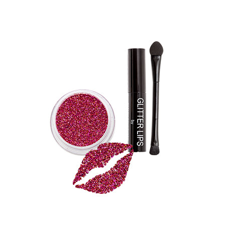 Sparkling Rose - Glitter Lips by Beauty Boulevard