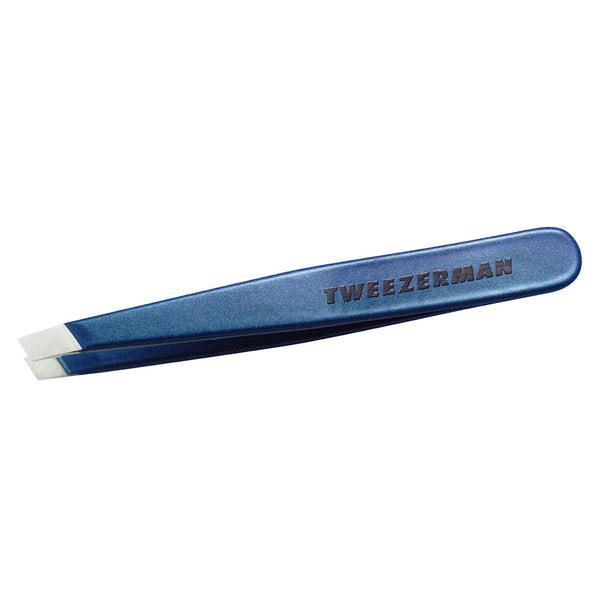 TWEEZERMAN Mini Slant Tweezer Blue