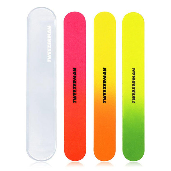 TWEEZERMAN Neon Nail Files