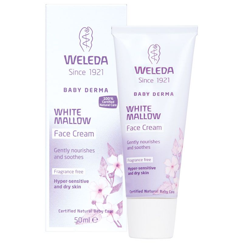 Weleda Baby Derma White Mallow Face Cream