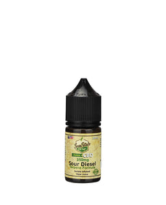 VAPE JUICE: SOUR DIESEL 10ml & 30ml  (250mg-1000mg)