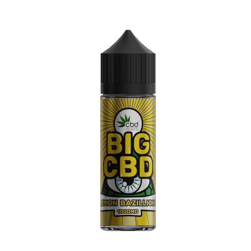 Lemon Bazillions - Big CBD – 60ml E-Liquid   1000mg