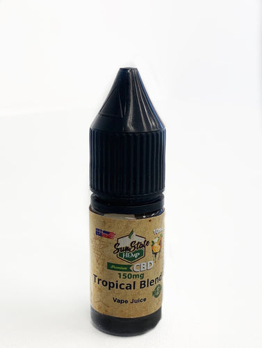 VAPE JUICE: TROPICAL BLEND   10ml   (150mg - 350mg)