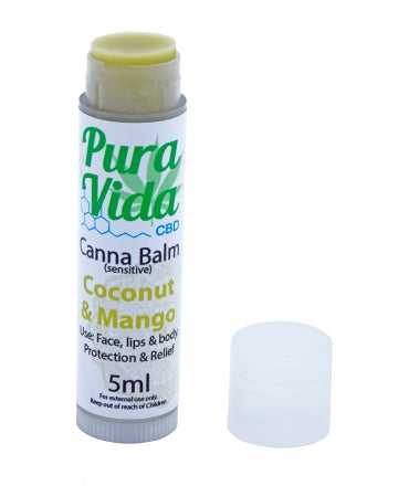 Canna Balm - Coconut & Mango 5ml Stick