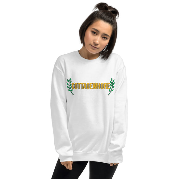 'Cottagewhore' Unisex Sweatshirt-For You Aesthetics