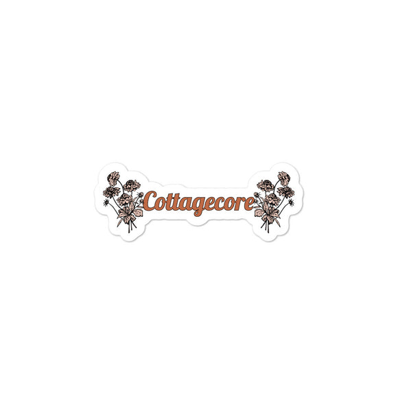 'Cottagecore' sticker-For You Aesthetics