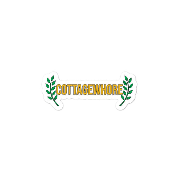 'Cottagewhore' Sticker-For You Aesthetics