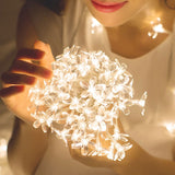 Flower String Lights - Gorgeous Cherry Blossom LEDs-For You Aesthetics