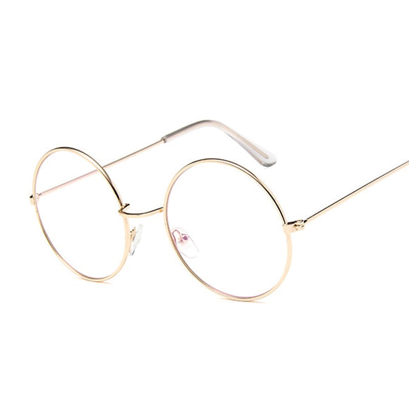 Stylish Oversized Round Glasses-For You Aesthetics
