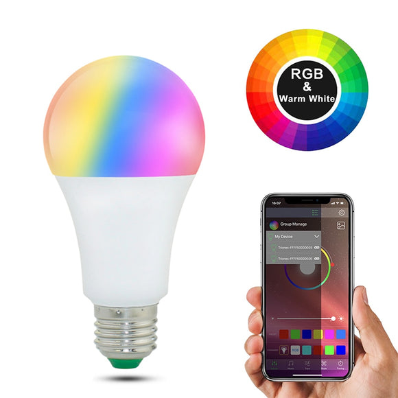Fun Multi-Color LED Light Bulb For Your Bedroom-For You Aesthetics
