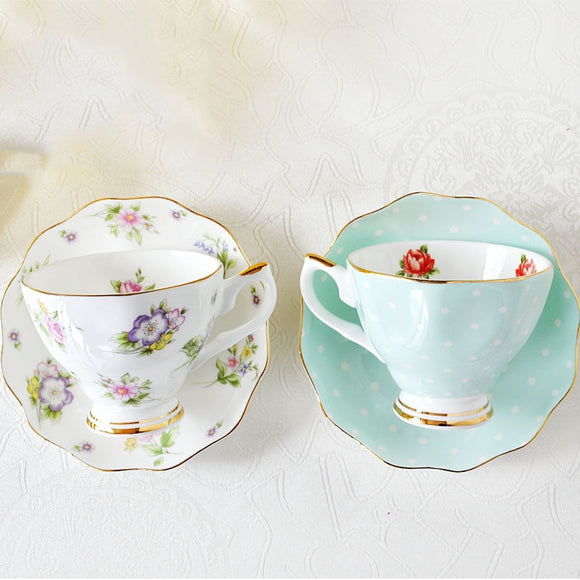 Vintage Tea Cups - Cute Cottagecore Set-For You Aesthetics