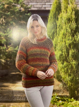 Load image into Gallery viewer, Marble Chunky Ladies Jumper Pattern - James C Brett