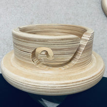 Load image into Gallery viewer, Hand Turned Knitting Bowl With Lid