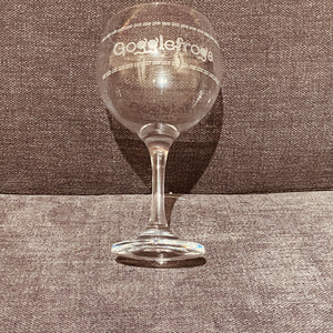 Gogglefrogs Gin Glass