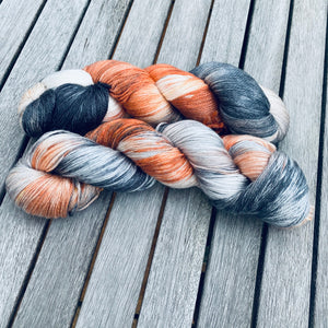 Pusskins - A Gorgeous Merino and Tencel yarn blend, by Gogglefrogs